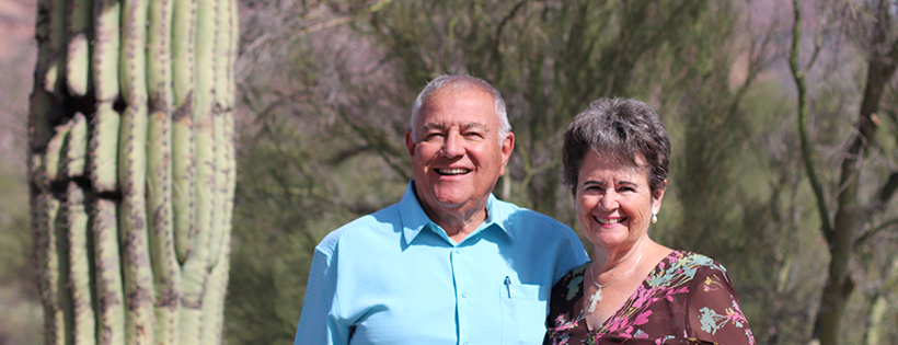 Rudy and Diane Villegas. Deacon. Superstition Foothills Baptist Church. SFBC. Gold Canyon. Church in Gold Canyon. Churches in Gold Canyon.
