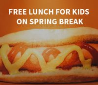 Free Lunch. Free Food. Gold Canyon AZ. Gold Canyon. Spring Break Lunch. Free Spring Break Lunches.